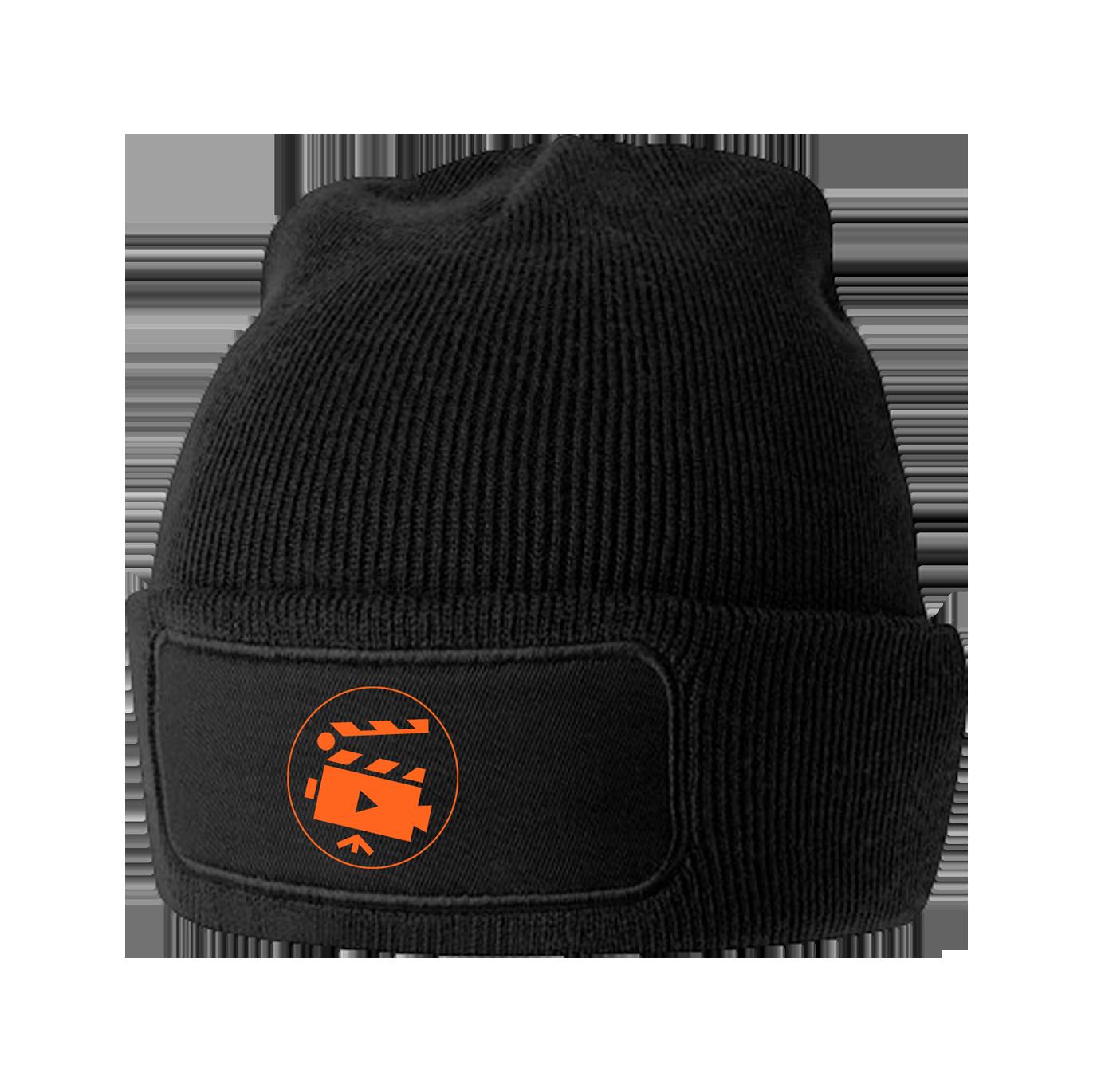 мъци лого черна шапка