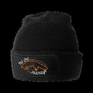 лисица шапка без понпон